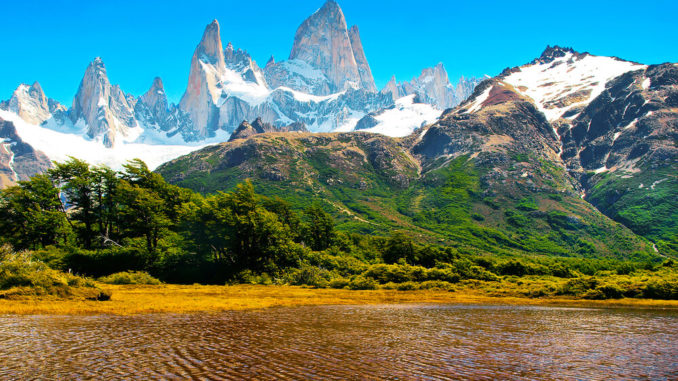 Patagonien - See und Berge