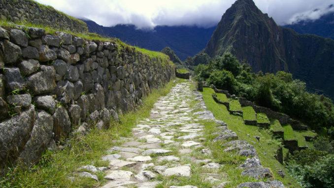 Weg auf dem Inka-Trail