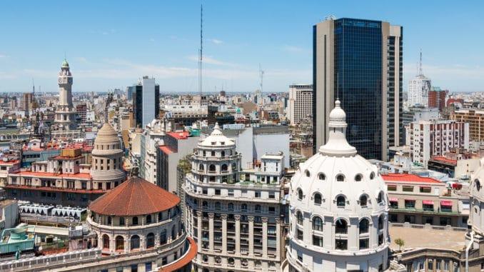 Stadtzentrum von Buenos Aires