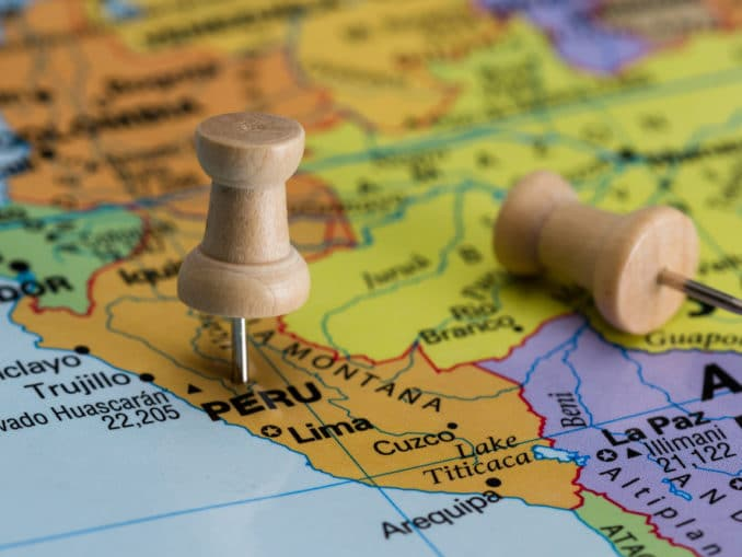 Flüge auf dem südamerikanischem Kontinent